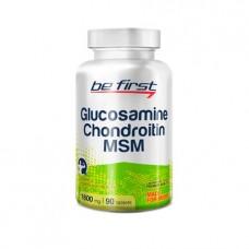 Купить Be First Glucosamine Chondroitin MSM 90 таблеток