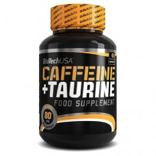 Купить BioTech Caffeine + Taurine 60 капс