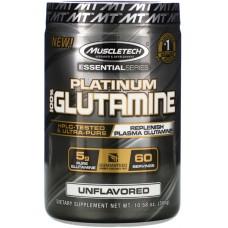 Купить MuscleTech Essential Series Platinum 100% Glutamine 300 г