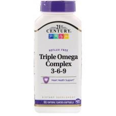 Купить 21st Century Triple Omega Complex 3-6-9 90 капс