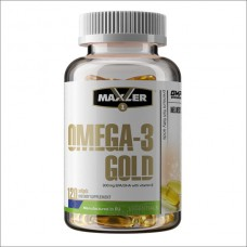 Купить Maxler Omega-3 Gold 120капс