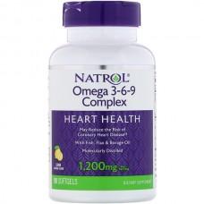 Купить Natrol Omega-3-6-9 Complex 90 гел.капс