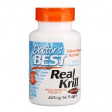 Купить Doctor's Best Real Krill 350 мг 60 капс
