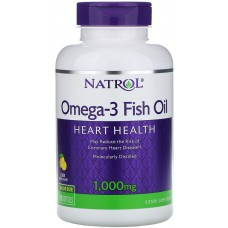 Купить Natrol Omega-3 Fish Oil 1000 мг 150 капс