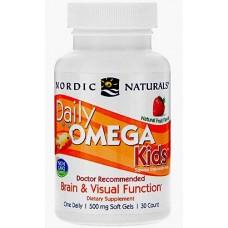 Купить Nordic Naturals Daily Omega Kids 500 мг 30 капс