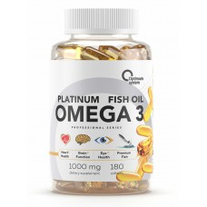 Купить Optimum System Omega-3 Platinum Fish Oil 180 капс