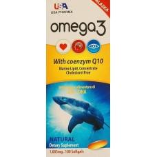 Купить USA Pharma Omega 3 with Q10 100 капс