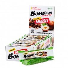 Купить Bombbar мультизлаковый батончик 45 г фундук
