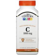 Купить 21st Century Vitamin C 1000 мг длительного высвобождения 110таб