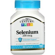Купить 21st Century Selenium 200 мкг 60 капс