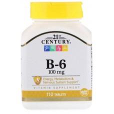 Купить 21st Century В-6 100 мг 110 таб