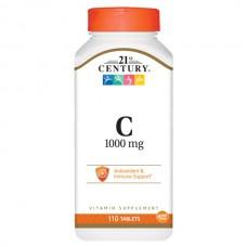 Купить 21st Century Vitamin C 500мг 110таб