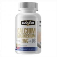 Купить Maxler  Calcium Zinc Magnesium + D3 90 таб