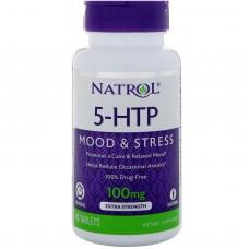 Купить Natrol/5-HTP/100 мг/45 табл./Медленного высвобождения