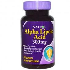 Купить Natrol Alpha Lipoic Acid 300 мг 50 капс