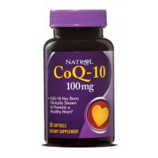 Купить Natrol Co Q-10 100мг 30 гелькапсул