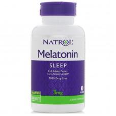 Купить Natrol Melatonin 3мг 120 таб.