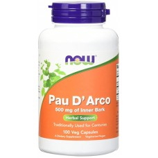 Купить NOW Pau D Arco 100 капсул
