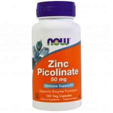 Купить NOW Zink Picolinate 50 мг 120 капс