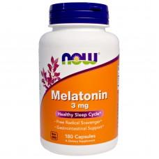 Купить NOW Melatonin 3мг 180таб