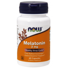 Купить NOW Melatonin 3мг 60капс