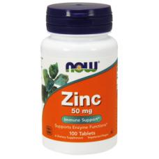 Купить NOW Zinc Gluconate 50мг 100таб