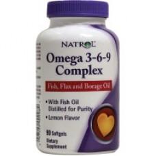 Купить Natrol Omega-3 Flaxseed Oil 1000mg 120 гел.капс
