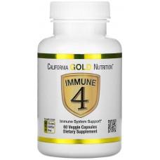 Купить California Gold Nutrition Immune4 60 капс