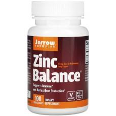 Купить Jarrow Formulas Zinc Balance 15мг 100 капс
