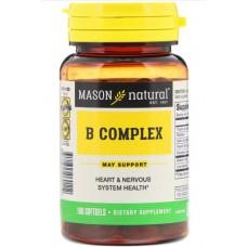 Купить Mason Natural B complex 100 капс