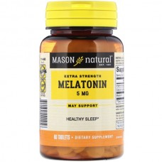 Купить Mason Natural Melatonin 5 mg 60 таб