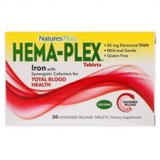 Купить Nature's Plus Hema-Plex 30 таблеток длительного высвобождения