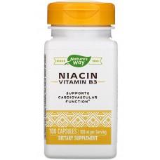 Купить Nature's Way Niacin (Vitamin B3) 100 мг 100 капс