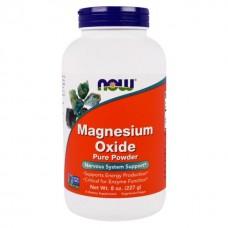 Купить NOW Magnesium Oxide 226г