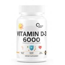 Купить Optimum System Vitamin D-3 6000 МЕ 365 капс