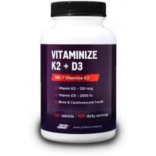 Купить Protein Company Vitaminize K2 + D3 120 таб
