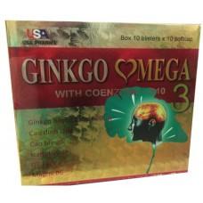 Купить USA pharma Ginkgo Mega with Q10 100 капс