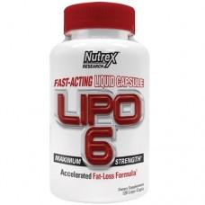 Купить Nutrex Lipo-6 120 капсул