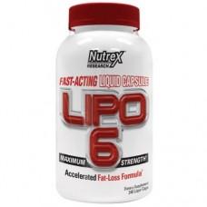 Купить Nutrex Lipo-6 240 капc
