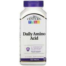 Купить 21st Century Daily Amino Acid 120 таб