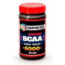 Купить AT BCAA 6000 СПОРТАМИН®  180 капс.(144гр.)