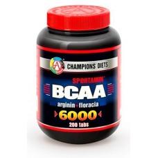 Купить AT BCAA 6000 СПОРТАМИН®  200 табл.