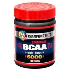 Купить AT BCAA 6000 СПОРТАМИН®  90 табл. (144гр.)