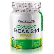 Купить Be First BCAA 2:1:1 CLASSIC powder 200г