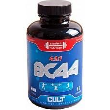 Купить Cult BCAA 4-1-1 200 капсул