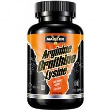 Купить Maxler Arginine-Ornithine-Lysine 100 капс