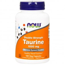 Купить NOW Taurine 1000 100 капсул