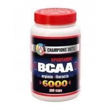Купить AT BCAA 6000 СПОРТАМИН 300капс