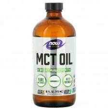 Купить NOW MCT Oil 473мл