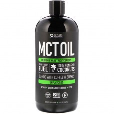 Купить Sports Research MCT Oil 946 мл